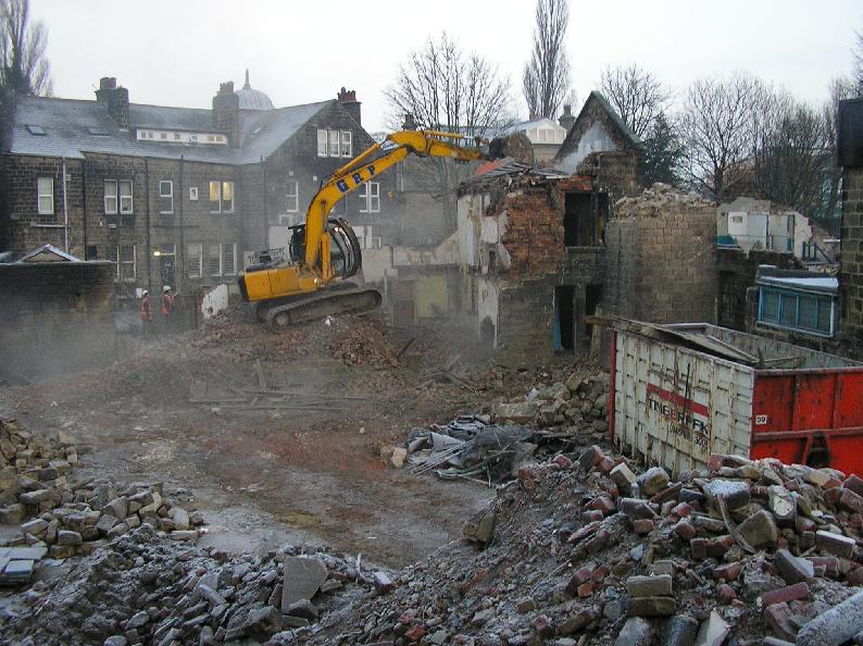 Hand demolition excavator GRP West Yorkshire