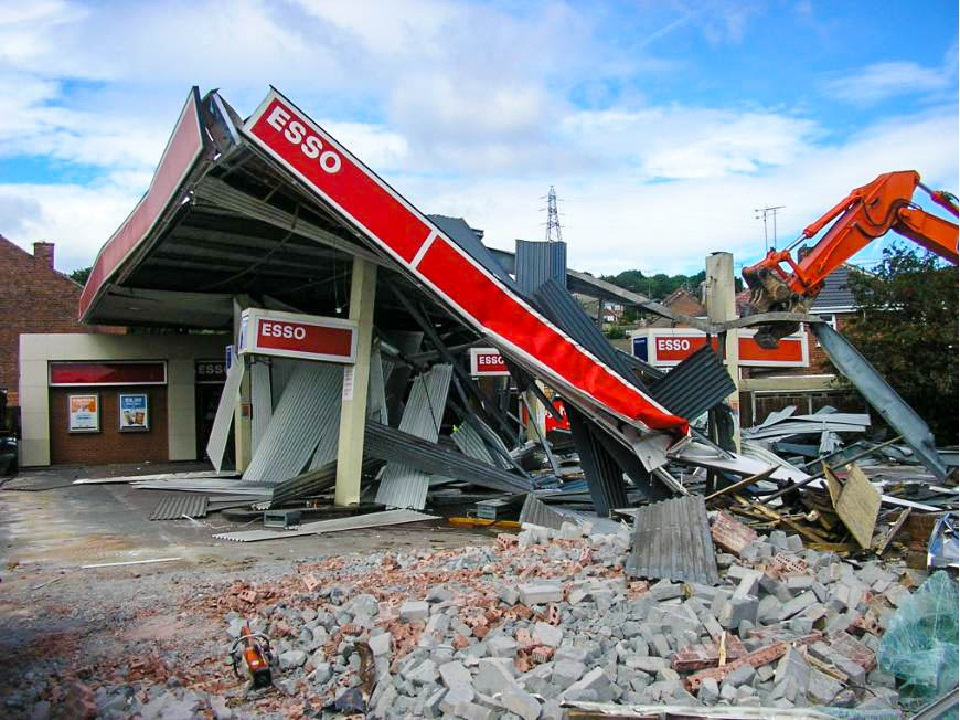 Filling Station Demolition Salvage